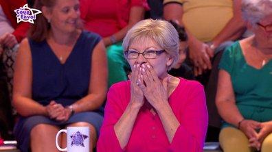 Claudia très excitée face à Jean-Luc Reichmann