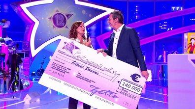 Remise d'un chèque de 140 000 euros pour les Pièces Jaunes