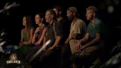 Qui a quitté l'aventure à l'issue de l'épisode de ce soir ?