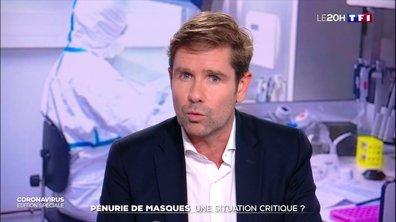 """Dr Gérald Kierzek : la pénurie de masques """"est un vrai souci et une urgence pour les médecins"""""""
