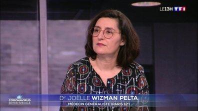 """Dr Joëlle Wizman Pelta : """"C'est choquant de voir ce système hospitalier qui déborde"""""""