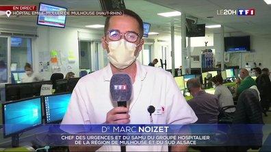 """Dr Marc Noizet : """"Depuis cinq jours, nous constatons une véritable régression des indicateurs d'activité"""""""