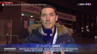 """Dr Martin Dres : """"On commence à savoir appréhender cette nouvelle maladie"""""""