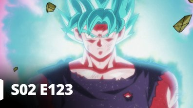 Dragon ball super - S02 E123 - Un esprit puissant dans un corps puissant ! Place à l'alliance de Goku et de Vegeta !