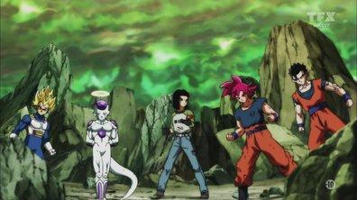 Dragon ball super - Guerre totale ! Offensive coordonée de l'univers 7 contre la quadruple fusion de l'univers 3