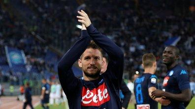 Serie A - Napoli : Mertens inscrit un but d'anthologie face à la Lazio Rome (VIDEO)