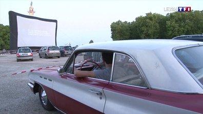 Drive-in : des bénévoles organisent des séances de cinéma à Bordeaux