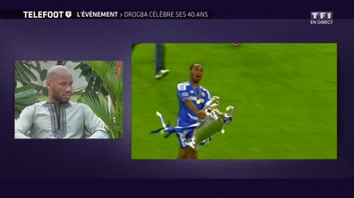 """[EXCLU Téléfoot 11/03] - Drogba évoque l'échec du PSG en Ligue des champions : """"Il faut du temps pour remporter une compétition"""""""