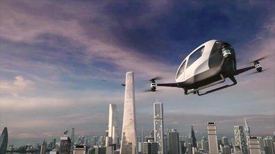 Ehang 184 : le taxi du futur sera-t-il volant et autonome ?