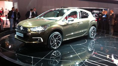 Mondial de l'Auto 2010 : Citroën DS4, une future star !