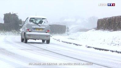 Du nord au centre, une large partie de la France sous la neige