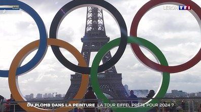 Du plomb dans la peinture : la tour Eiffel prête pour 2024 ?