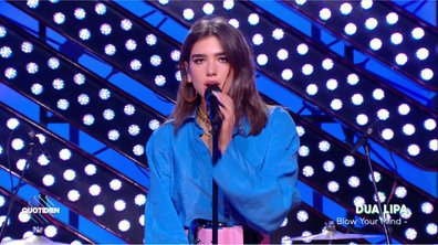 "Dua Lipa : ""Blow Your Mind"" en live sur Quotidien (Exclu Web)"