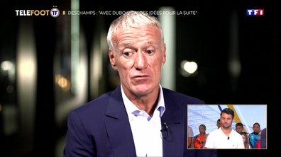 """Didier Deschamps : """"Avec Dubois j'ai des idées pour la suite"""""""