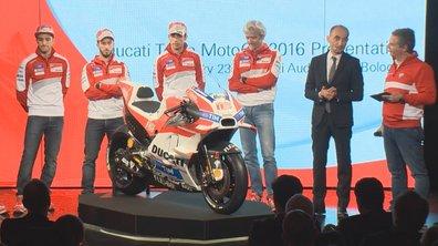 MotoGP 2016 : Ducati dévoile la nouvelle Desmosedici