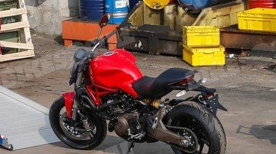 Ducati Monster 821 2014 : premières photos scoop