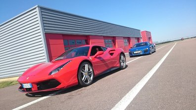 Sommaire Automoto : Duel de choc Ferrari 488 GTB/Audi R8 ce 15 mai 2016