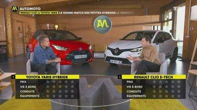 Renault Clio vs Toyota Yaris : le grand match des petites hybrides