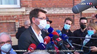 Dunkerque : le gouvernement impose un confinement partiel