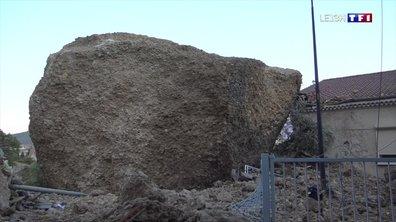 Eboulement d'un rocher aux Mées : les habitants craignent d'autres effondrements