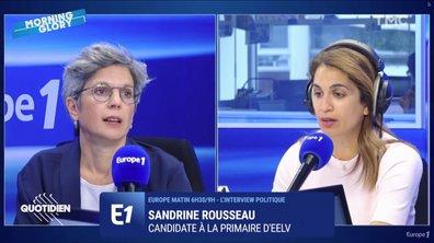 Échange glacial entre Sonia Mabrouk et Sandrine Rousseau sur Europe 1