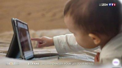 Écrans : un vrai danger pour les tout-petits