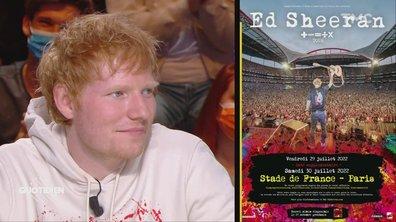 Ed Sheeran annonce une nouvelle date au Stade de France