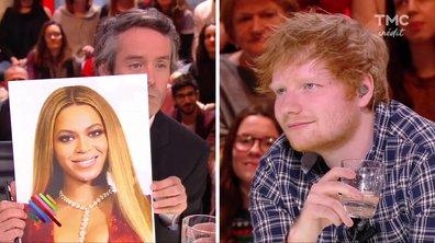 """Ed Sheeran : """"Je n'arrivais pas à regarder Beyonce dans les yeux"""""""