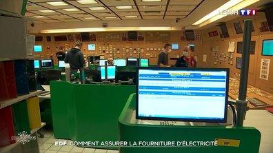 EDF assure la continuité de son service
