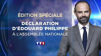 Déclaration d'Edouard Philippe face à l'Assemblée Nationale