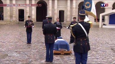 Emmanuel Macron fait Arnaud Beltram commandeur de la Légion d'Honneur