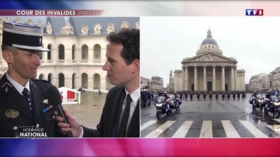 """""""C'était un guide"""" : le colonel Eric Luset, ancien camarade de promotion d'Arnaud Beltrame, lui rend hommage"""