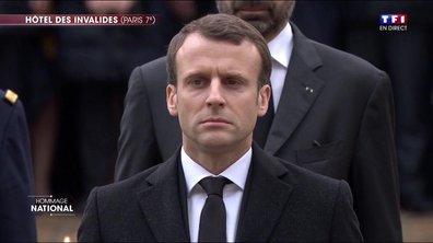 La Marseillaise en l'honneur d'Arnaud Beltrame
