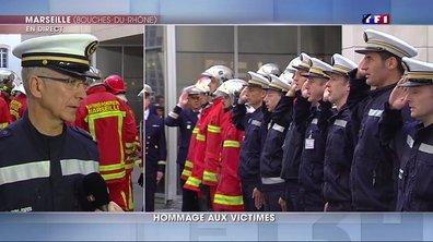 """Attentats du 13 novembre : les marins pompiers de Marseille expriment leur """"solidarité"""" avec les victimes"""
