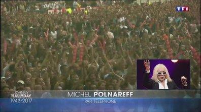 Décès de Johnny Hallyday : la réaction de Michel Polnareff