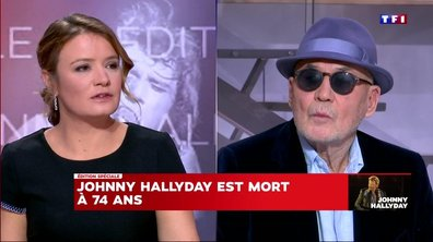 Gilles Lhote se souvient de grands moments avec Johnny Hallyday