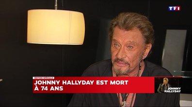 Johnny Hallyday sur ses fans : « J'aime le public »