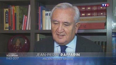 """Johnny Hallyday : """"La France est en état de tristesse nationale"""" déclare Jean-Pierre Raffarin"""