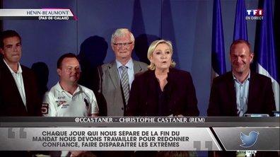 Marine Le Pen, présidente du FN et élue députée à Hénin-Beaumont