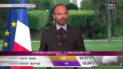 Déclaration du Premier ministre Edouard Philippe