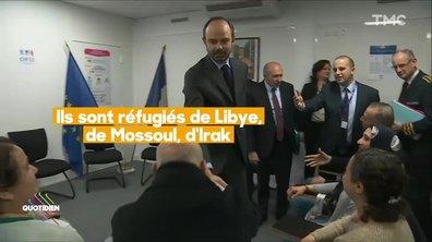 """Loi """"Asile et immigration"""" : l'opération séduction d'Edouard Philippe et Gérard Collomb"""