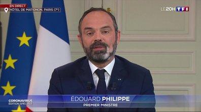 """Édouard Philippe : """"Nous allons encore durcir les mesures de confinement"""""""
