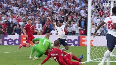 Angleterre - Danemark (1 - 1) : Voir le but csc de Kjaer en vidéo