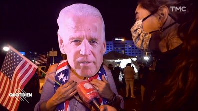Election américaine : en Pennsylvanie, l'explosion de joie des supporters de Joe Biden