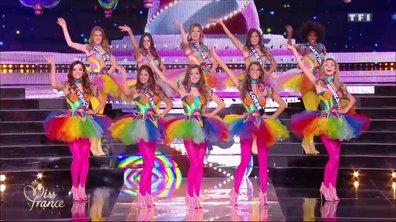 Miss France 2018 – 10 Miss défilent sur le thème de la fête foraine