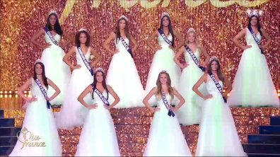 Miss France 2018 – Les 12 Miss demi-finalistes passent le grand oral