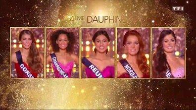 Miss France 2018 - Qui sont les dauphines ?