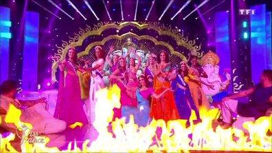 Miss France 2019 – 10 Miss défilent sur le thème du Bollywood
