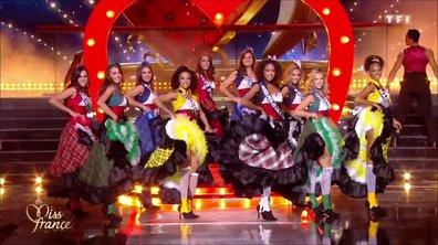 Miss France 2019 – 10 Miss défilent sur le thème du cabaret