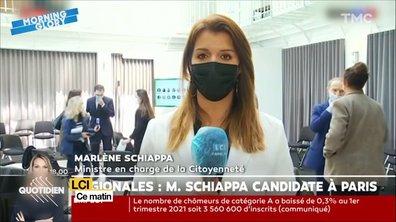 Election régionale : Marlène Schiappa candidate à Paris disait quoi avant ?